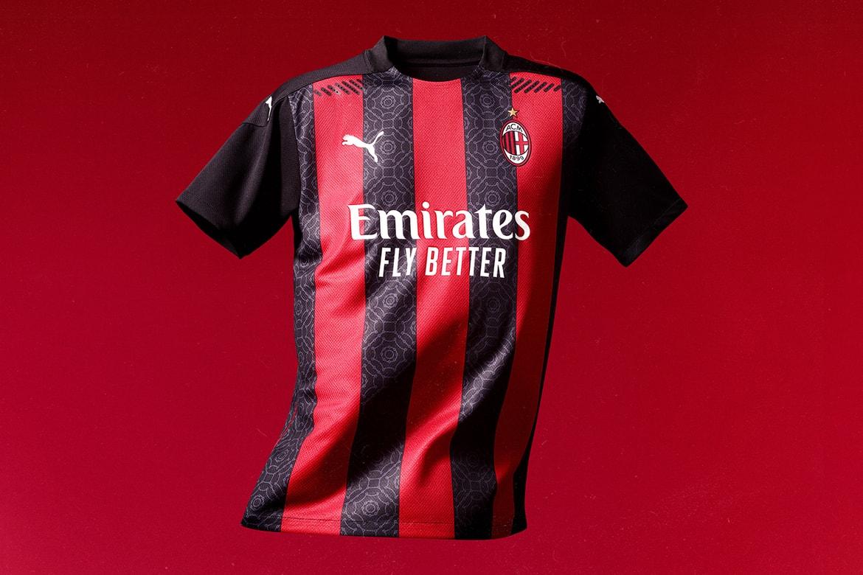 Puma Ac Milan 2020 21 Season Home Jersey Info Hypebeast