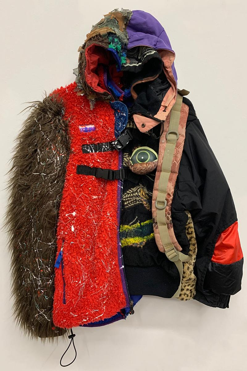 """Adamaneven """"Mother Nature"""" Collection One Upcycling Sustainability JUSTIN GAMBRAH Bomber Jackets T-Shirts Band Tees Graphics Button Up Shirts"""