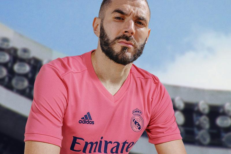adidas football soccer real madrid karim benzema spain la liga home and away buy cop purchase manchester city release information white spring pink