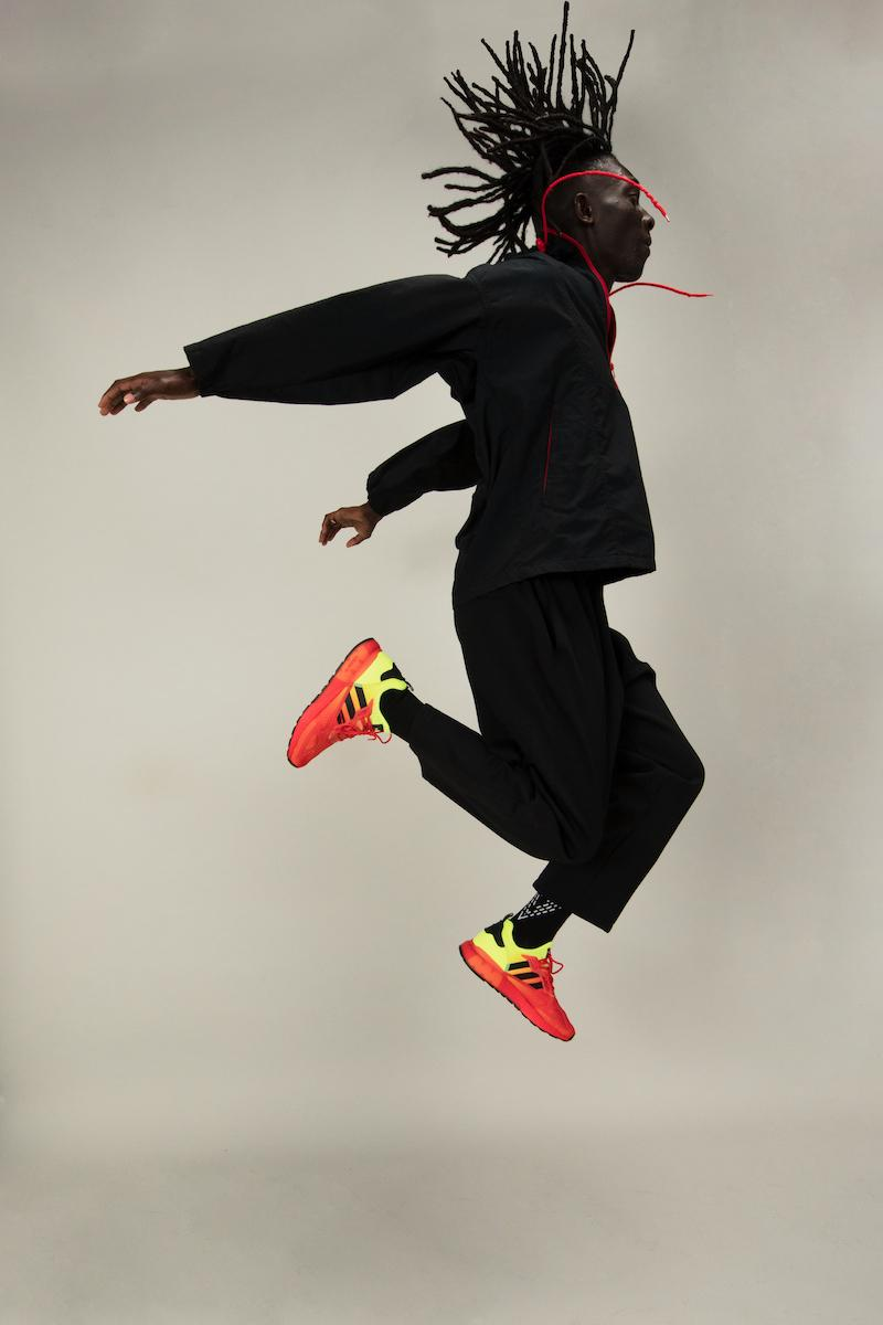 adidas originals foot locker zx 2k boost model silhouette lifestyle sneaker squish play