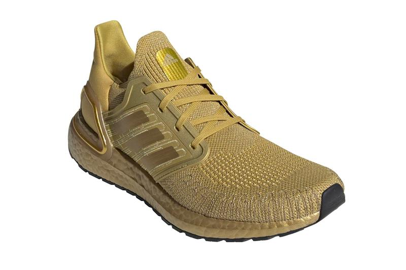 eg1343 adidas ULTRABOOST 20 Metallic Gold Release shoes kicks footwear eg1343 menswear streetwear spring summer 2020 collection