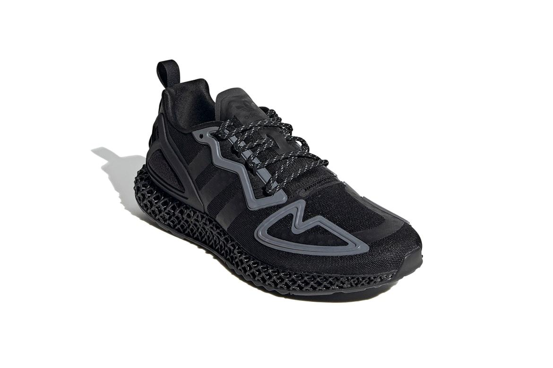Adidas Zx 2k 4d Core Black Release Information Hypebeast