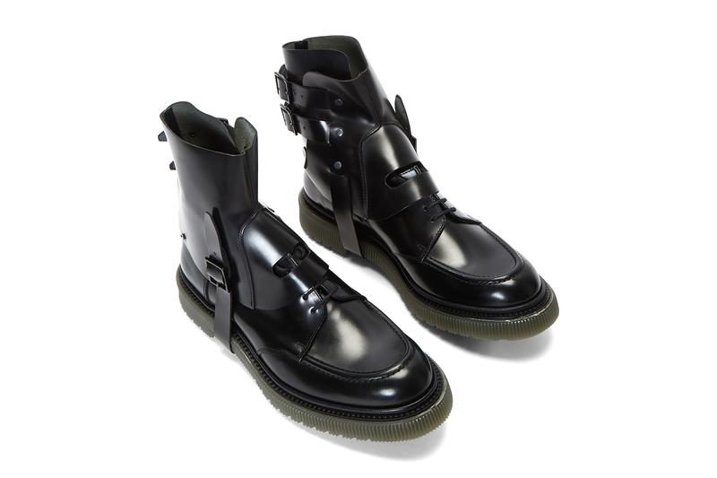 Adieu Type 134 Boots Black menswear streetwear spring summer 2020 collection shoes kicks ss20 leather