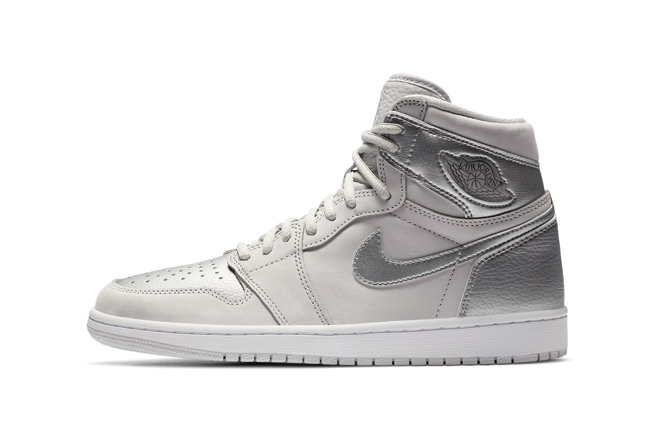 air jordan brand 1 high co jp metallic silver neutral grey white DA0382 029 japan briefcase official release date info photos price store list buying guide