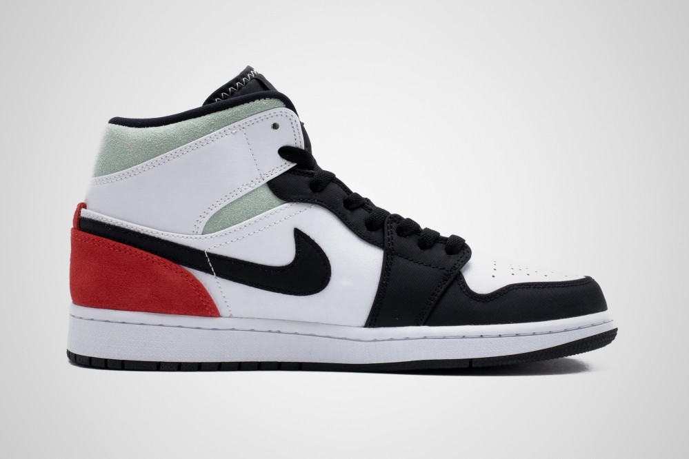 air jordan brand 1 mid union track red black white igloo grey 852542 100 official release raffle date info photos price store list buying guide