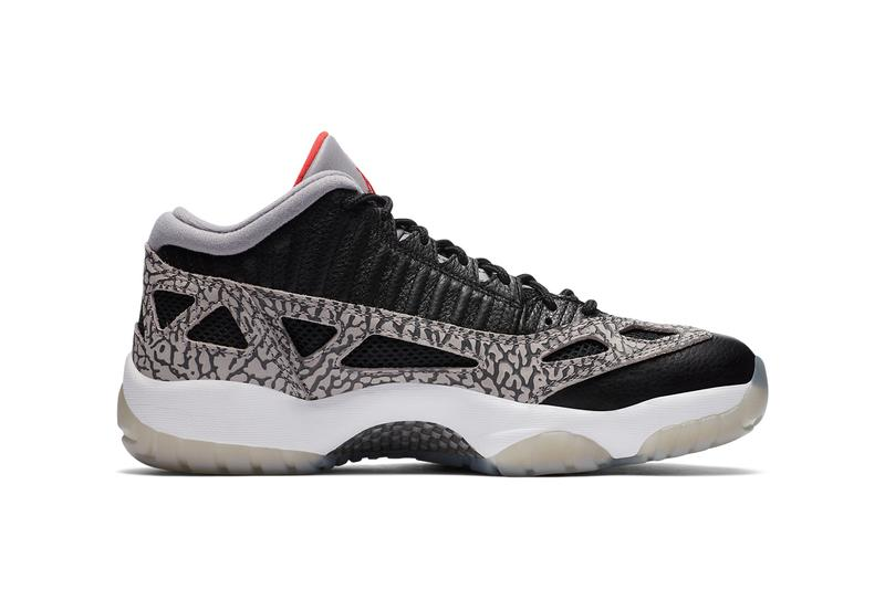air jordan brand 11 xi low ie black cement fire red grey white 919712 006 official release date info photos price store list buying guide