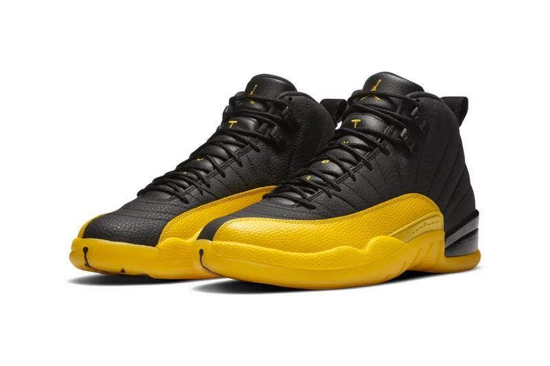 Nike Air Jordan 12 University Gold 130690 070 shoes sneakers trainers runners menswear streetwear spring summer 2020 collection footwear