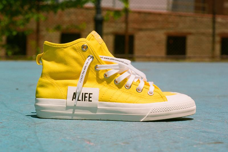 alife adidas originals nizza hi high black white yellow fx2619 official release date info photos price store list buying guide