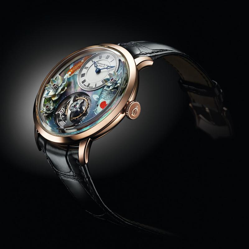 Arnold & Son Ultrathin Tourbillon Koi Timepiece