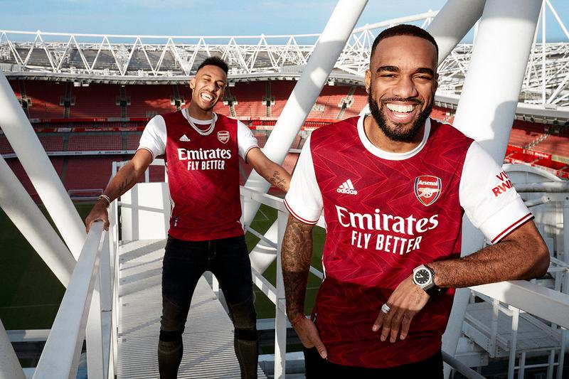 arsenal adidas london football soccer 2020 21 home jersey chevron art deco first look officially unveiled buy cop purchase