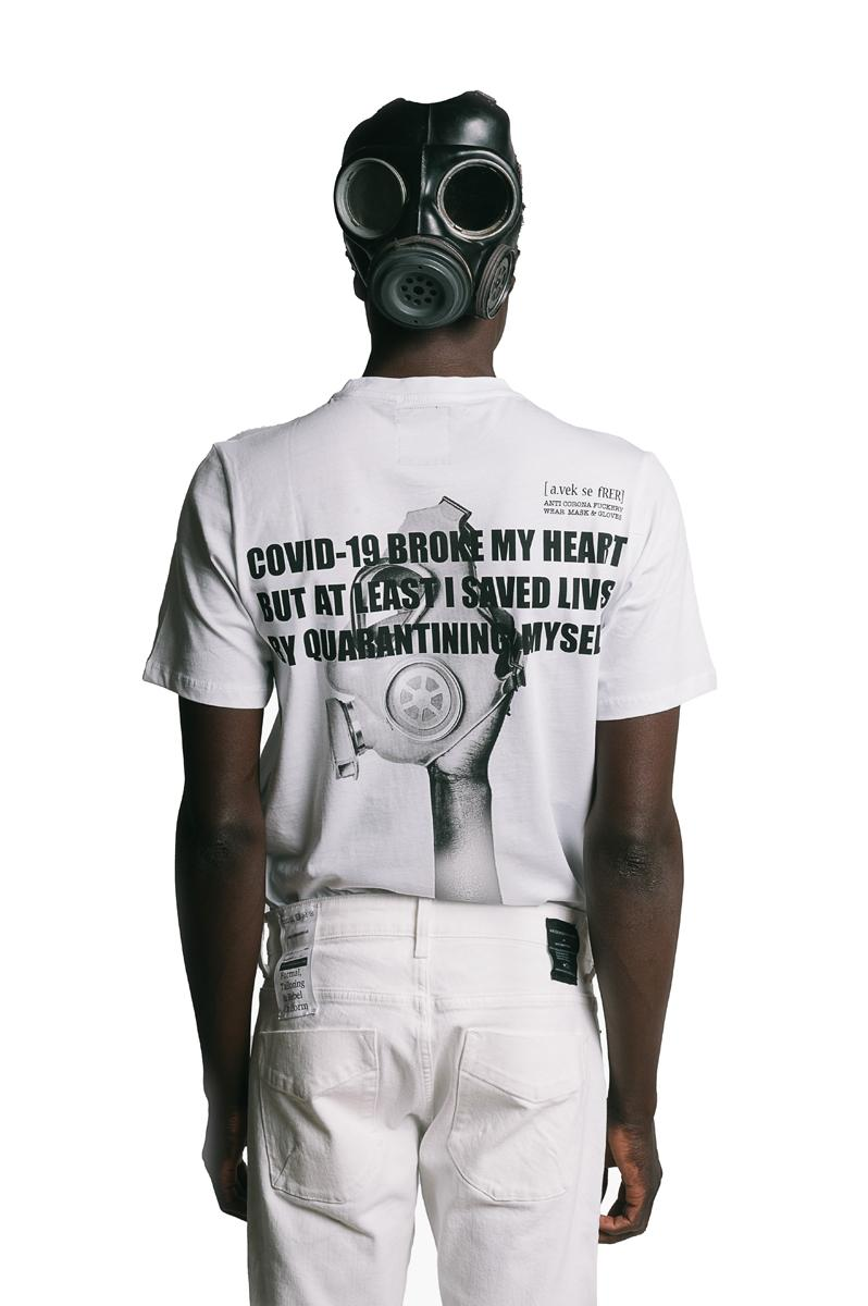 Art Comes First Anti-Racism Collection Release police brutality scissors hand vintage tees T-shirts long sleeves face masks button down long sleeve shirt