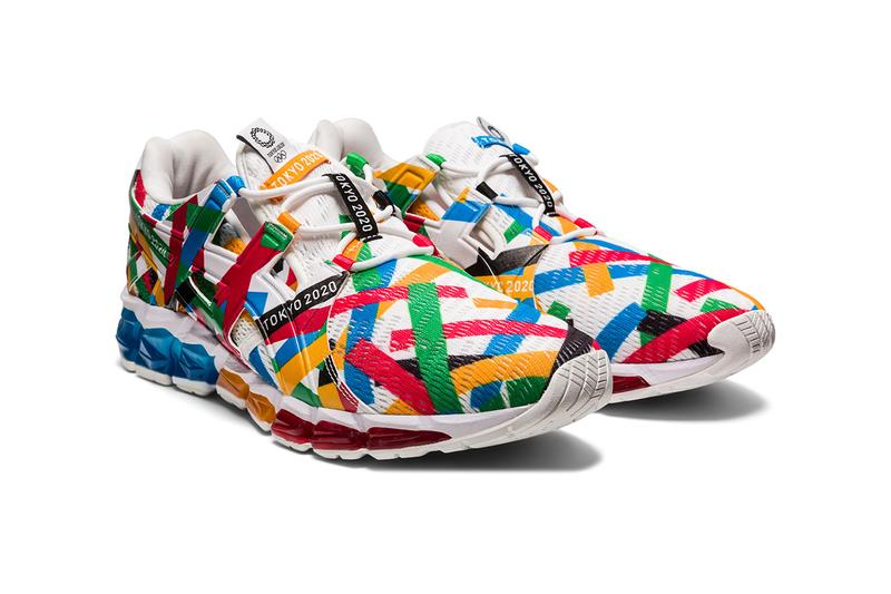 "ASICS Tokyo 2020 Olympics ""Multi Crossing Pack"" sneaker gel quantum 360 sandal tyo 90 lazerbeam kids childrens tee shirt graphic logo backpack scarf japan shoe footwear official licensed"