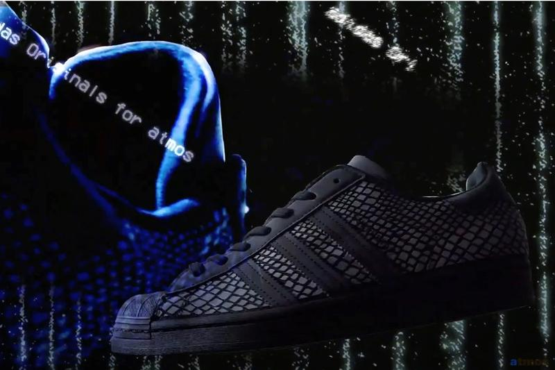 atmos adidas originals superstar g r snk reflective glow in the dark t shirt shorts official release date info photos price store list buying guide