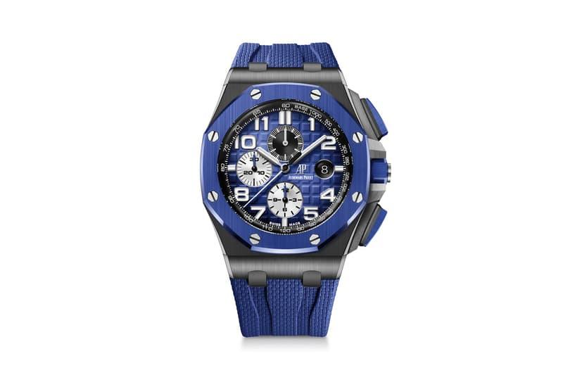 Audemars Piguet Royal Oak Offshore Chronograph Blue Green pink gold 26405CE.OO.A030CA.01 AP luxury swiss watch