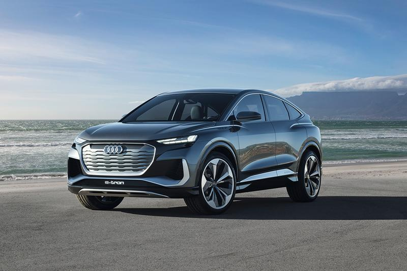 Audi Q4 Sportback E-Tron Concept Revealed German Electric Cars EV 2021 Release Information Closer Look Automotive Engineering Technology