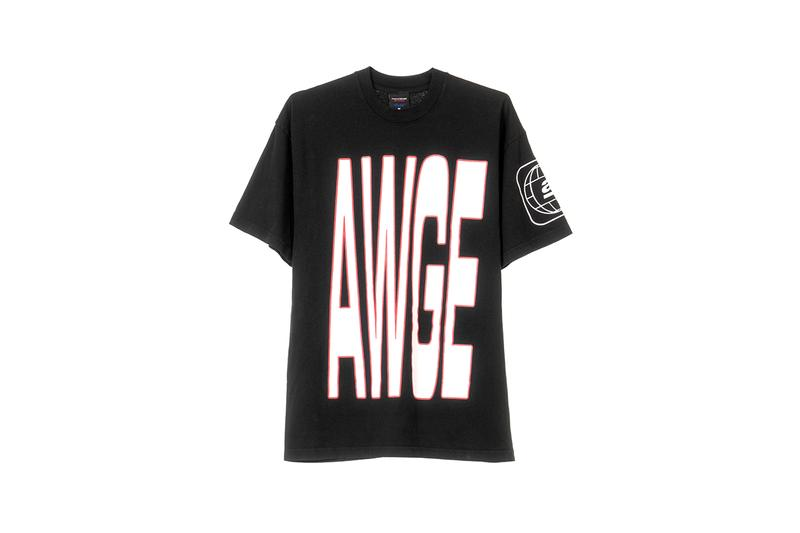 asap rocky awge selfridges rave inspired capsule t-shirt long sleeve hoodie release information buy cop purchase