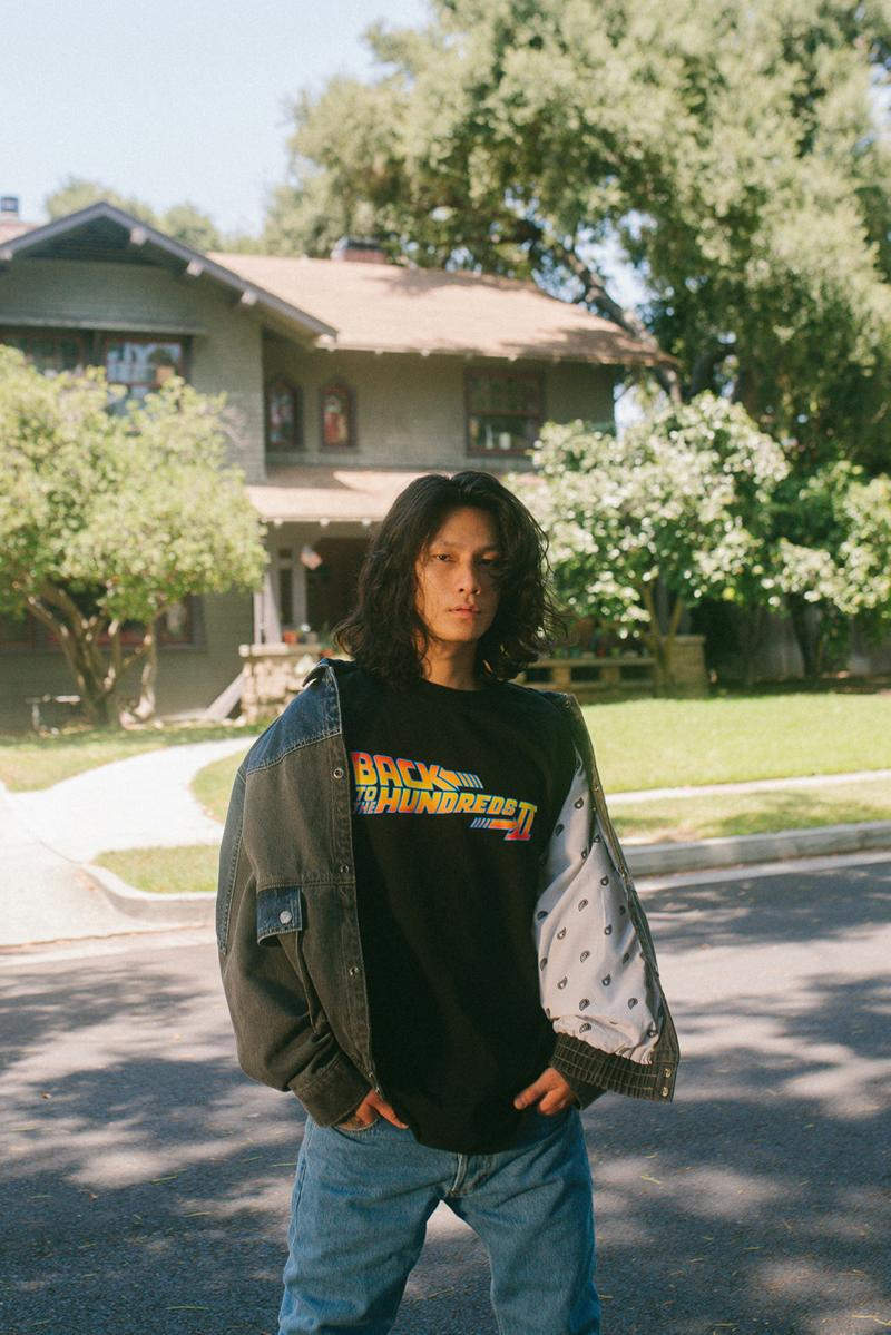 'Back to the Future II' x The Hundreds Collaboration collection marty mcfly doc brown