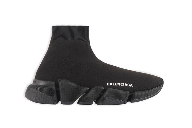 Balenciaga Speed 2.0 Release Information First Look Drop Demna Gvasalia Footwear Sneaker Triple-Arch 3D Knit Upper Sock Lightweight