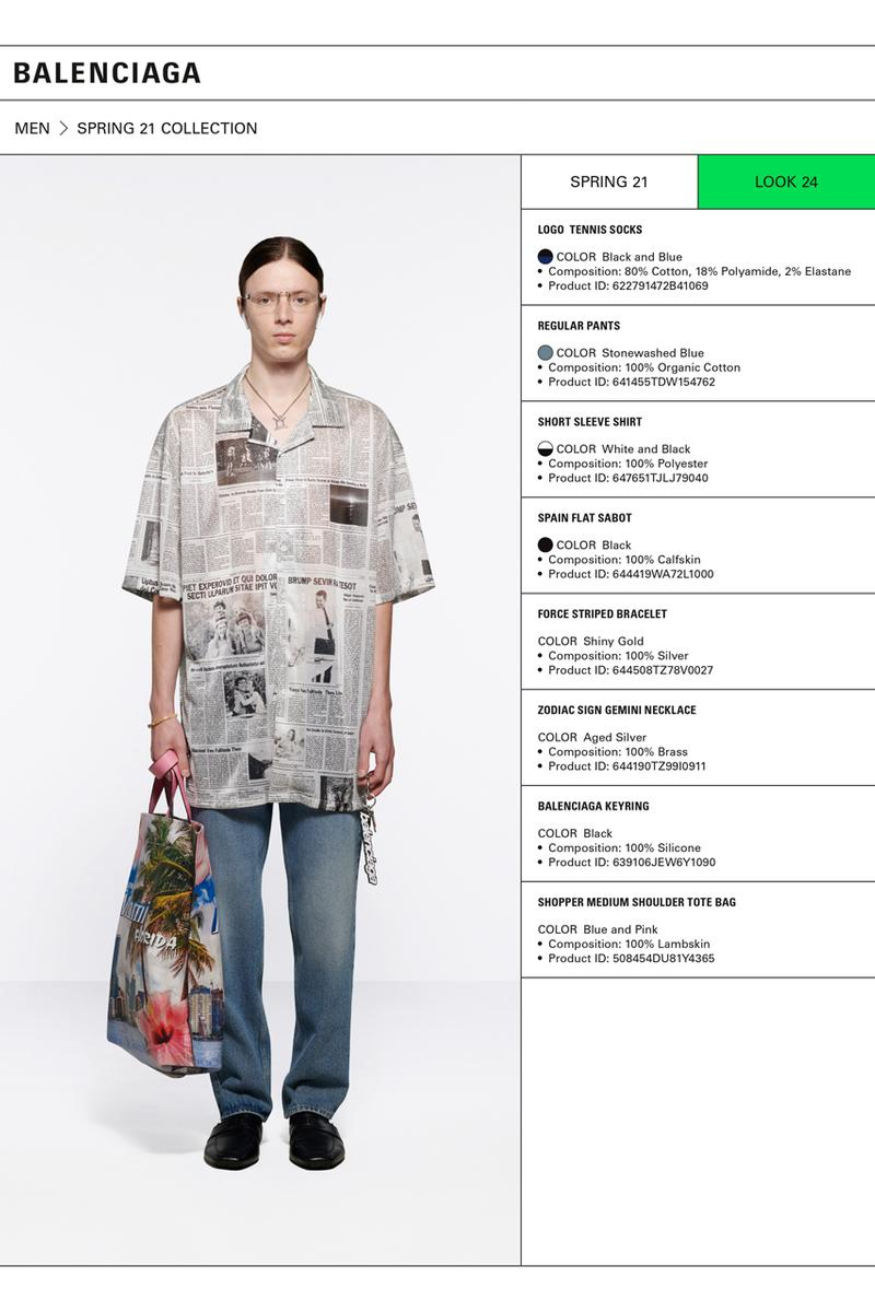 Balenciaga Spring 2021 Collection Lookbook summer ss21 menswear womenswear demna gvasalia