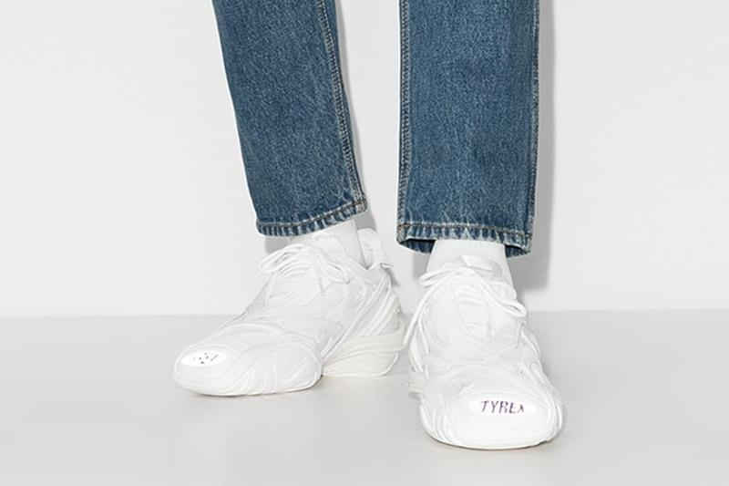Balenciaga Tyres Sneaker Triple White Footwear Release Drop Date Information Closer Look Browns Menswear Futuristic Shoe Demna Gvasalia