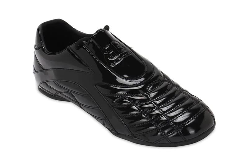 Balenciaga Zen Taekwondo Sneakers black spring summer 2020 collection menswear streetwear footwear shoes runners trainers kicks ss20 glossy