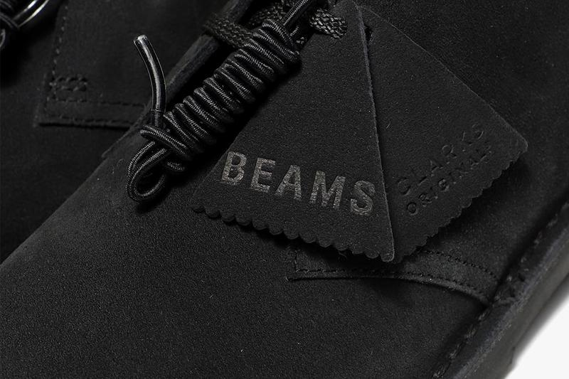 beams clarks originals desert rock boot gore-tex fall winter 2020 collaboration release information when do they drop