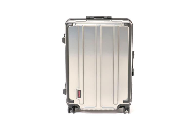 briefing beams plus heavy duty suitcase luggage aluminium shell