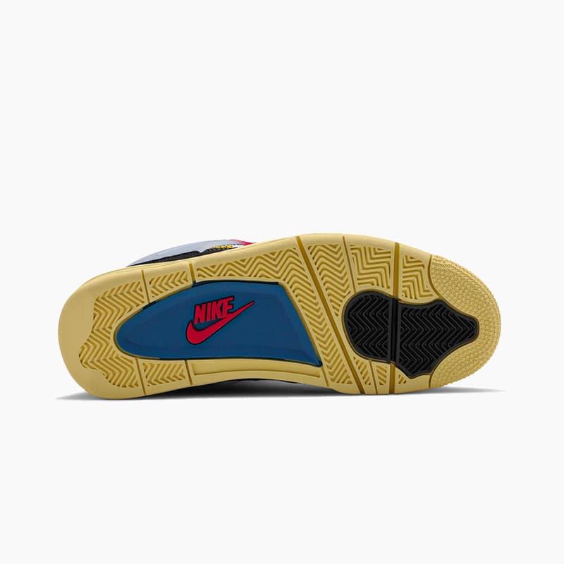 "Union x Air Jordan 4 Retro ""Off Noir"" Release 2020 Where to Buy"