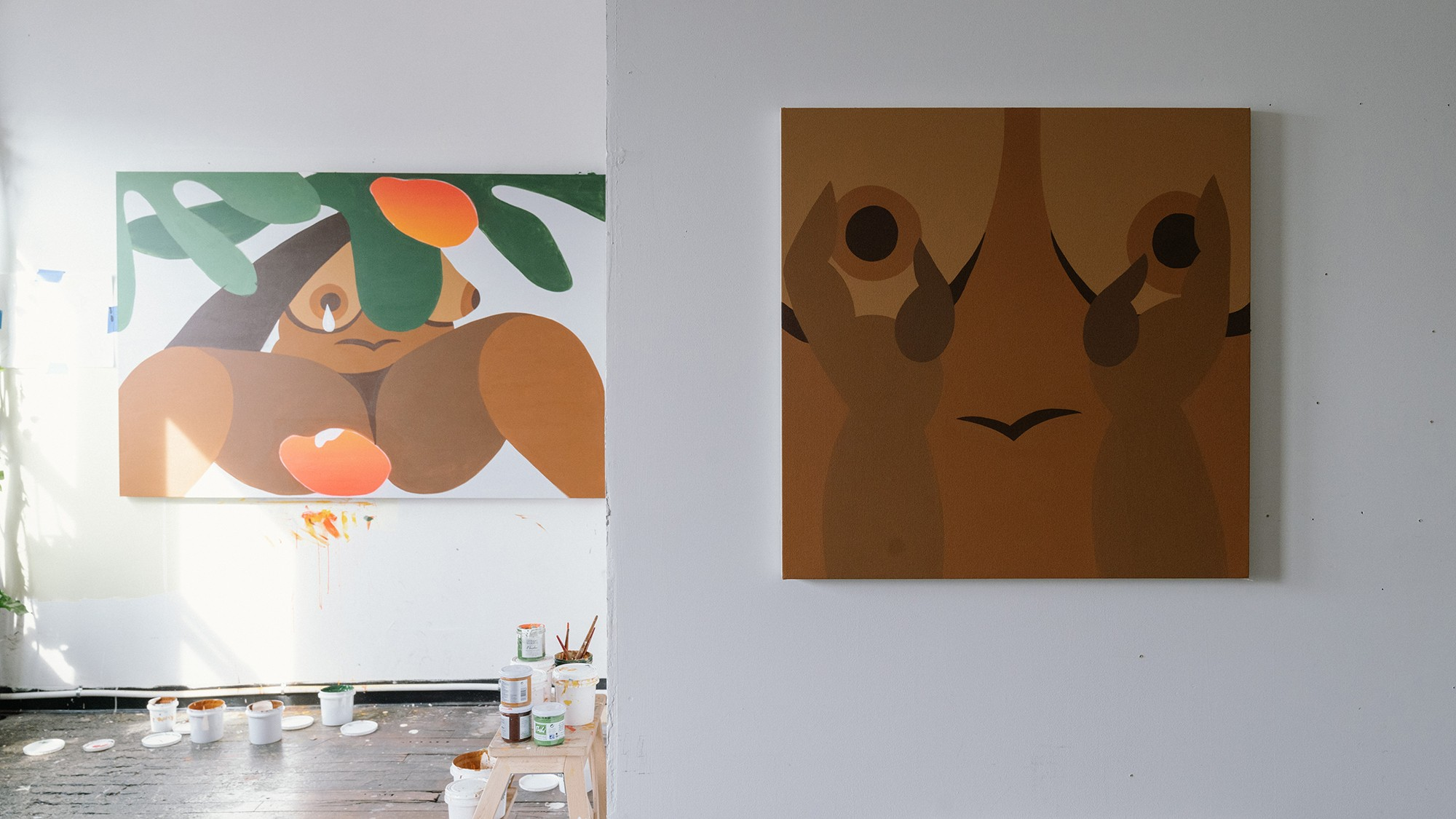 bianca nemelc artist painter interview new york city black lives matter woman black brown