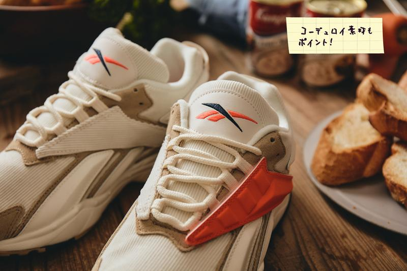 billys tokyo reebok interval 96 clam chowder fy7631 interchangable stripes white tan red green orange official release date info photos price store list buying guide