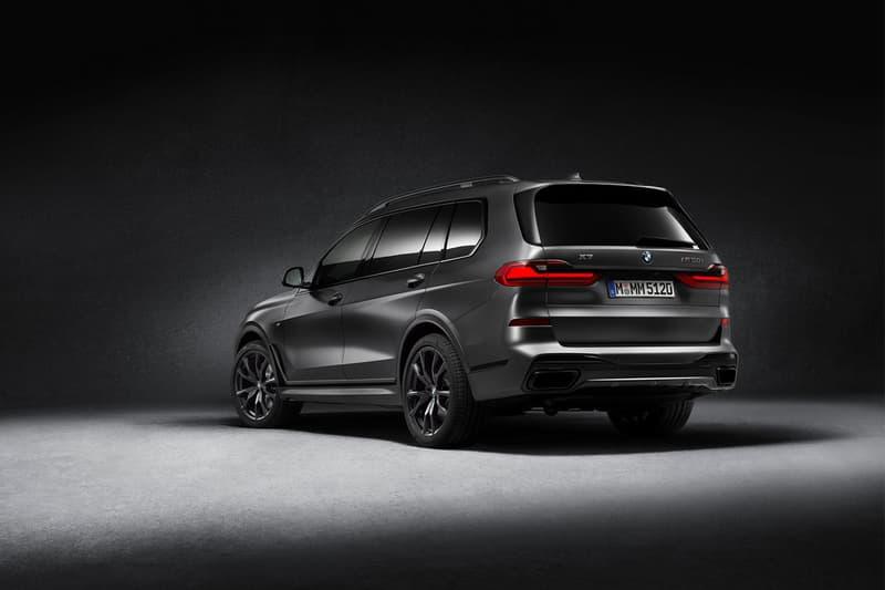 2021 bmw x7 car limited edition dark shadow trim package release