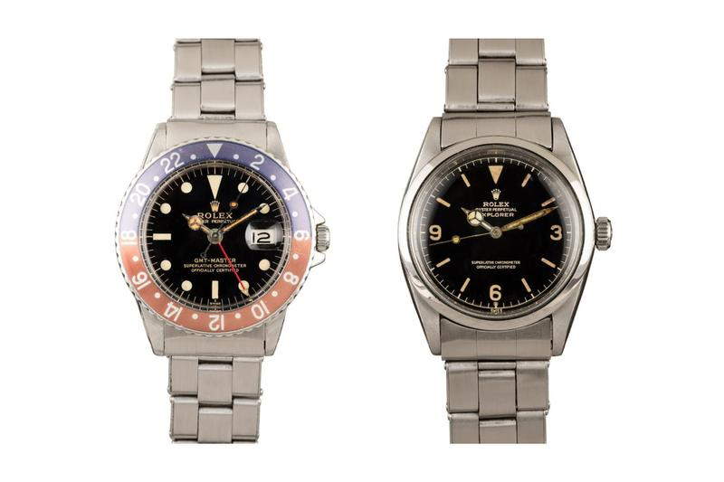 "Bob's Watches ""FRESH FINDS"" Auction Sees '60s-Era Vintage Watches Rolex Omega"