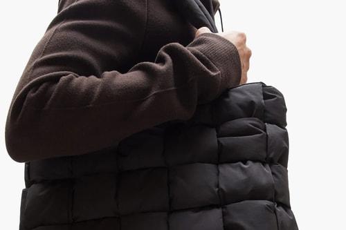 Bottega Veneta Unveils Woven Padded Tote Bag For FW20