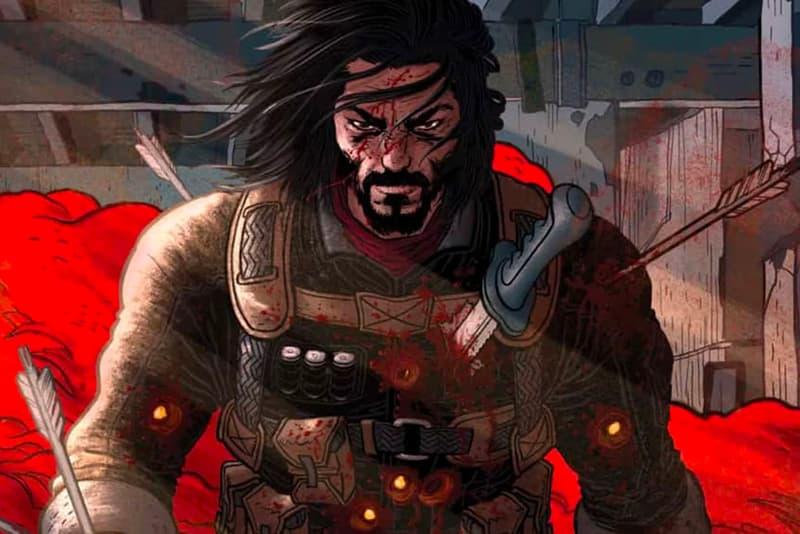 Keanu Reeves 'BRZRKR' Comic Book Series Launch Alessandro Vitti Matt Kindt Netflix movies comics blood gore violence