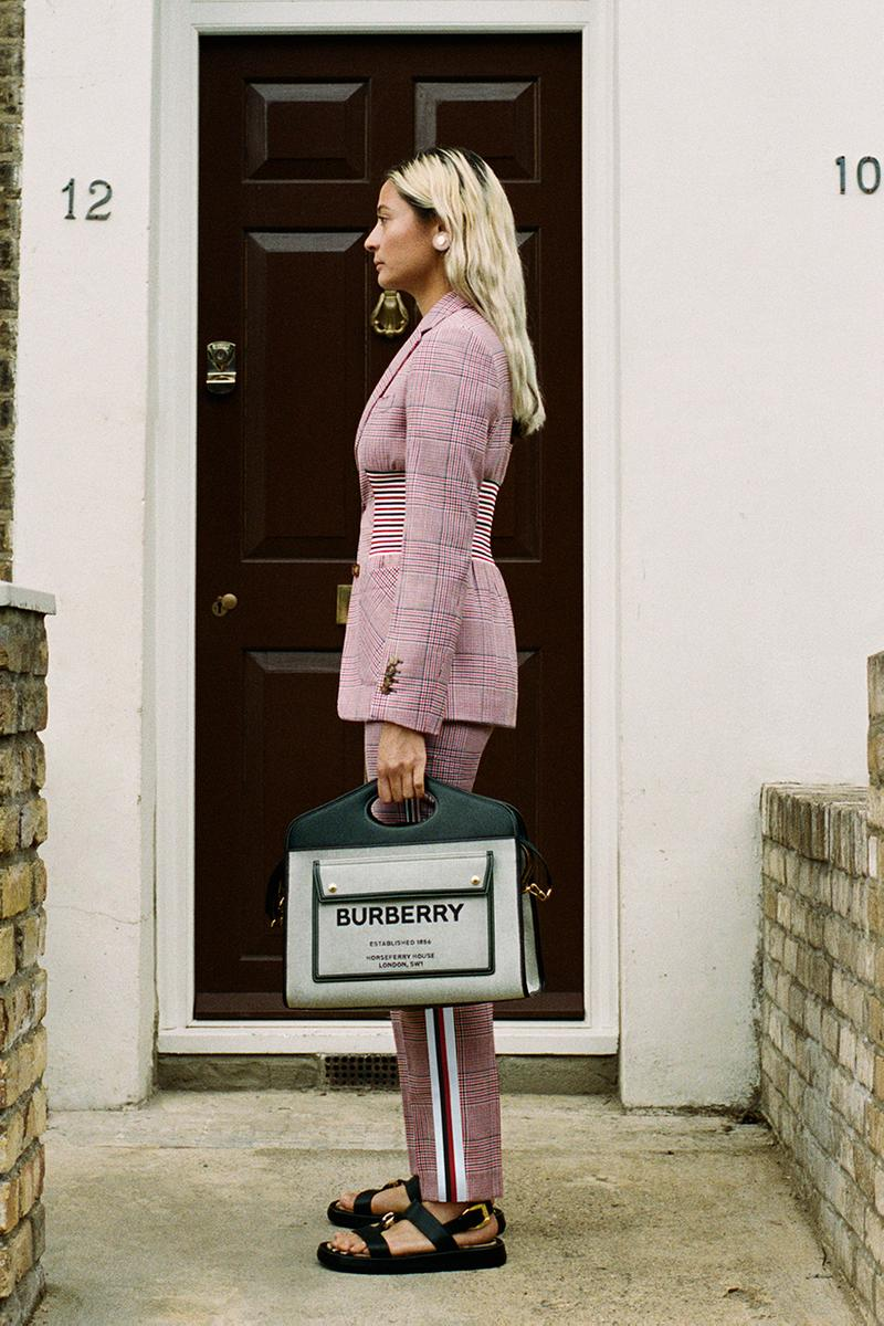 burberry riccardo tisci pre-collection spring summer 2021 ss21 release information campaign lookbook