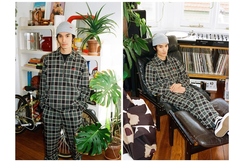 Butter Goods Q2 2020 Collection Lookbook t-shirts hoodies cargo pants pullovers plaid color block beanies 6-panel cap saxophone player second delivery