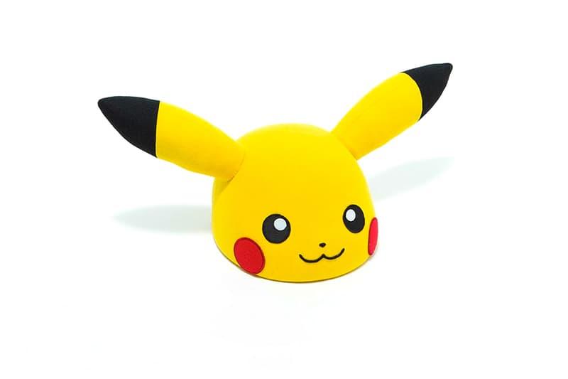 CA4LA Pokemon Pikachu Hat menswear streetwear caps spring summer 2020 collection face 50