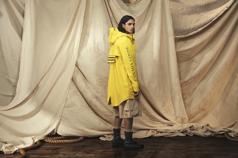 canada goose nanaimo seawolf jacket outerwear overboard yellow coats