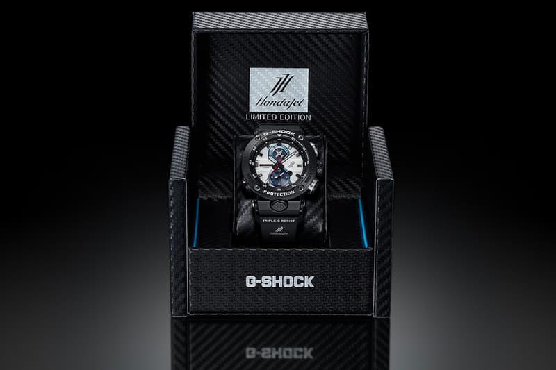 Casio G Shock HondaJet GWR B1000HJ watches menswear streetwear spring summer 2020 collection honda aircraft company HA 420 twin engine