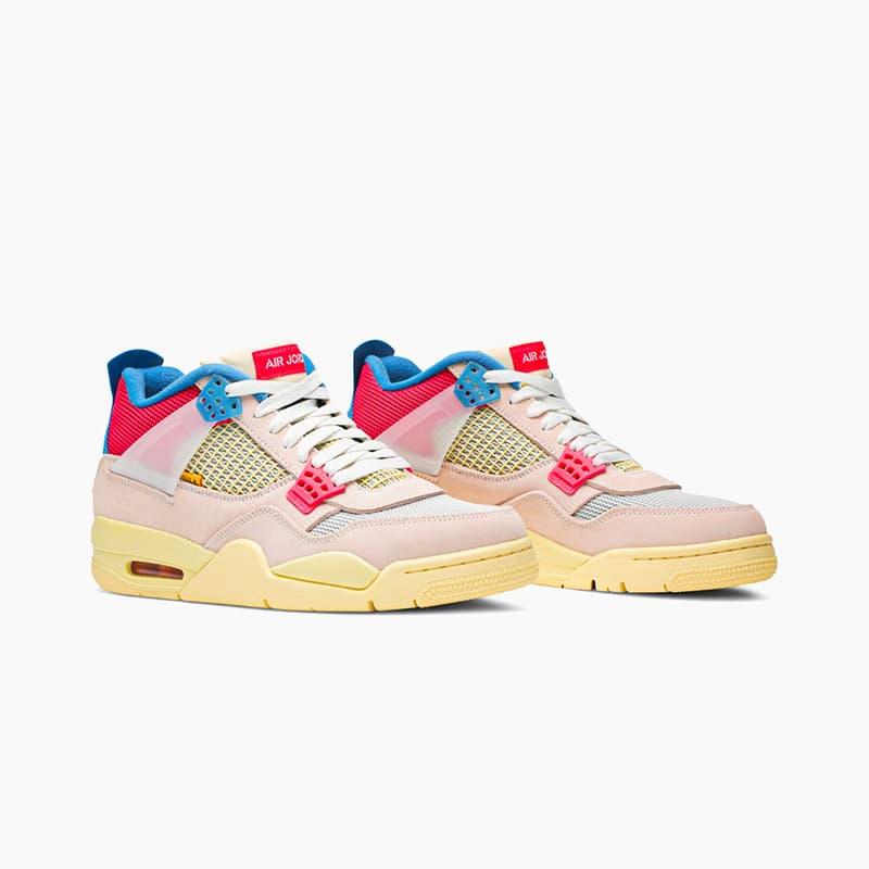 "Union x Air Jordan 4 Retro ""Guava Ice"" Release 2020 Where to Buy"