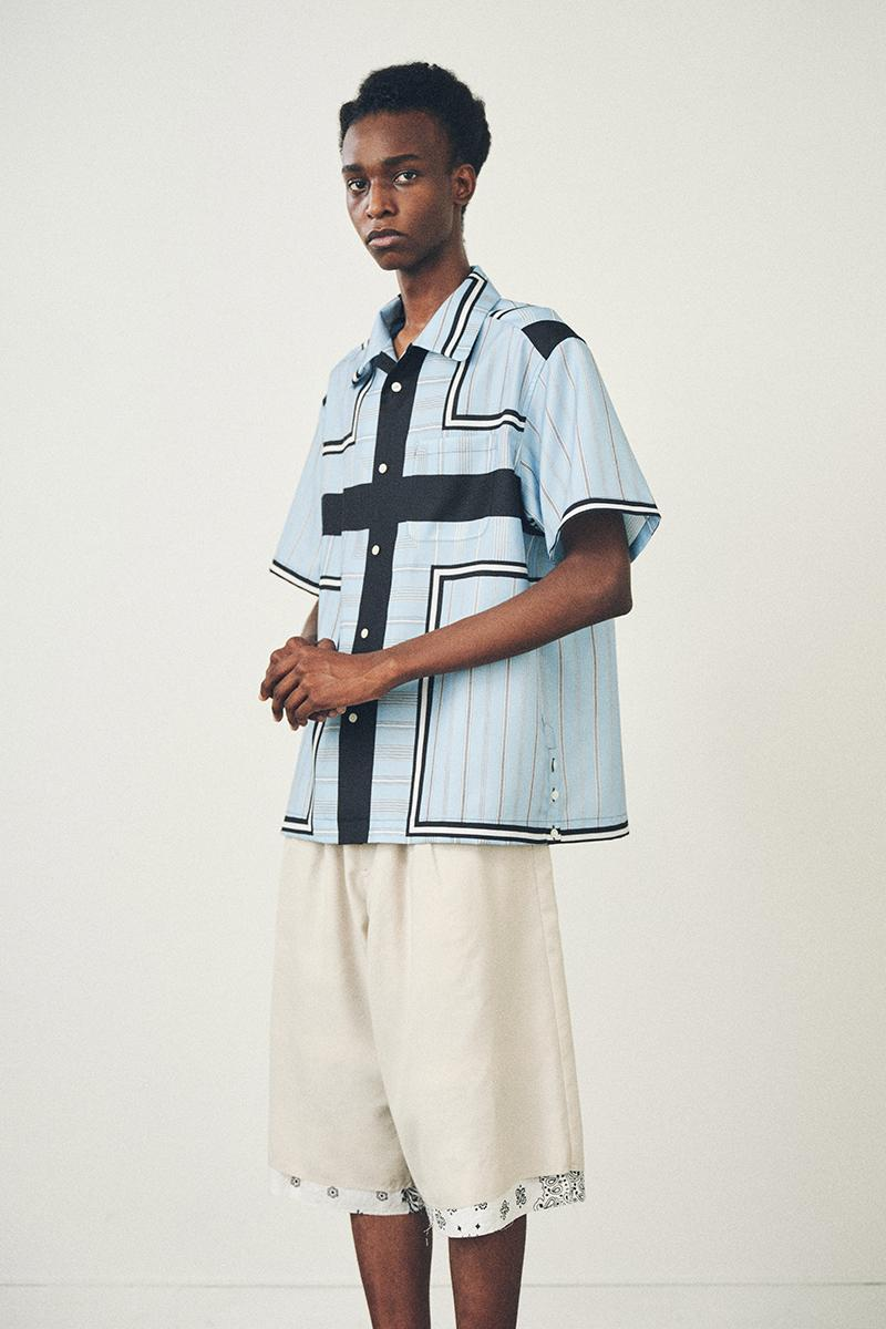 Children of the discordance Spring Summer 2021 Lookbook menswear streetwear japanese fashion label brands shirts t shirts pants trousers shorts bandana graphics ss21