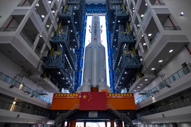 China Tianwen-1 Mars Mission News space exploration China Space Program Mars Trio Rover Rockets Tech long march 5