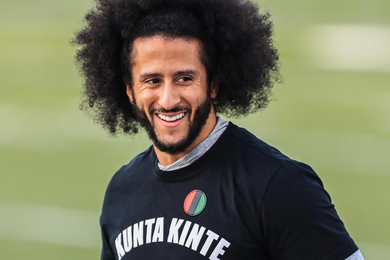 Colin Kaepernick Disney Partnership Announcement nfl national football league espn films ra vision media