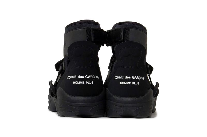 COMME des GARÇONS x Nike Air Carnivore Collaboration homme plus japan release date info buy april 2021 colorway 3m reflective high top mid runway