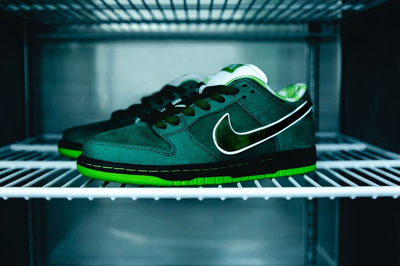 """Concepts Is Raffling Its Nike SB Dunk Low """"Lobster"""" in Purple and Green for Black Lives Matter"""