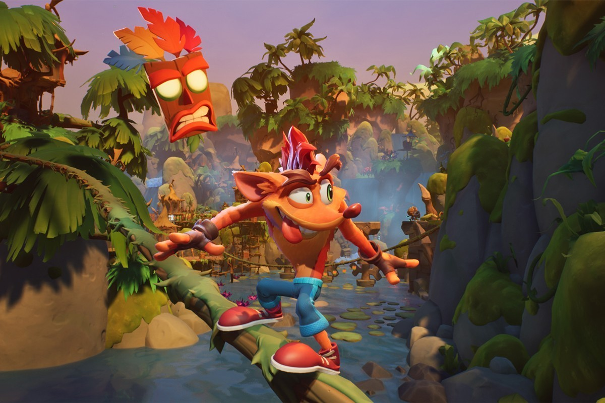 Toys for Bob Crash Bandicoot 4 It's About Time Preview Review Naughty Dog Mythical Universal Studios Mario Sonic Aku Aku CoCo October 2, 2020