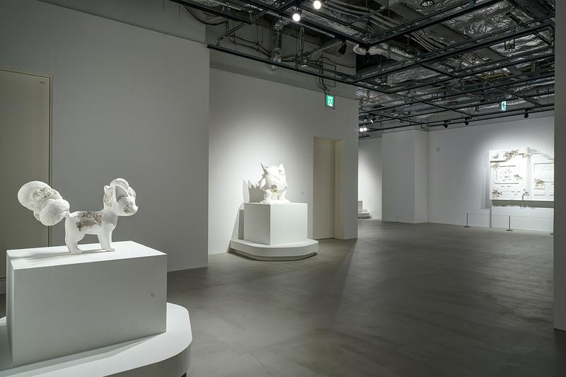 "Pokémon and Daniel Arsham Unveil New Dates for ""Relics of Kanto Through Time"" Exhibition Tokyo Sculptures Art"