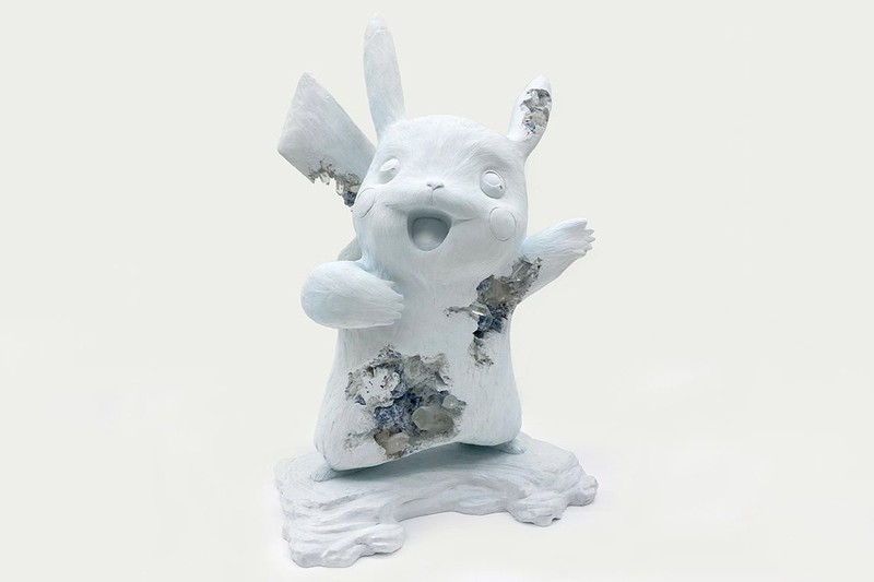 Daniel Arsham Isn't Done Making Pokémon Sculptures