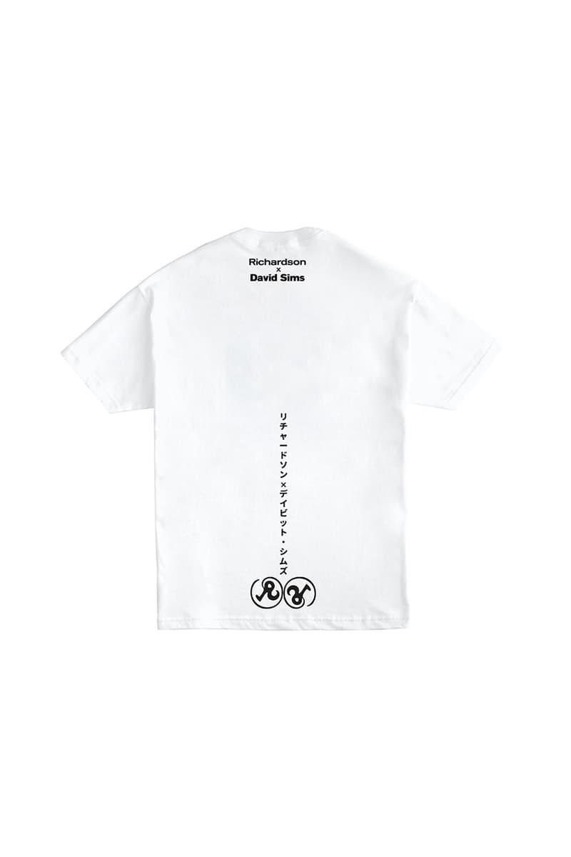 David Sims x Richardson SS20 Broadsheet Newspaper & T-Shirt Collection Capsule Yuki 'Jelly' Miyazaki Jamie Reid Photographer Graphic Tee Release Information