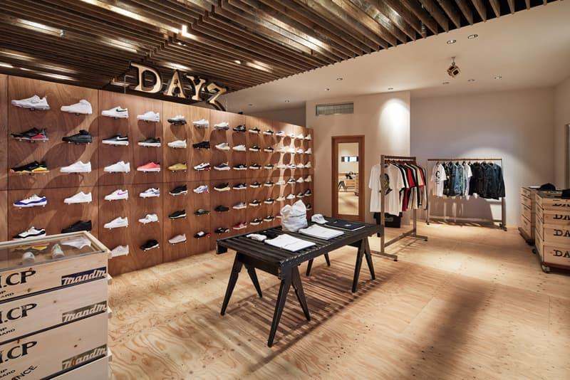 DAYZ New Concept Store in Miyashita Park NEIGHBORHOOD Nike Vans UNDERCOVER Masafumi Watanabe sneakers boutique kuumba M&M